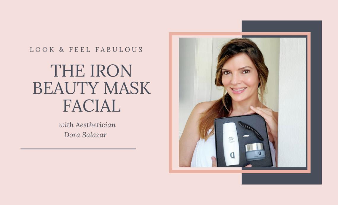 The iron beauty mask